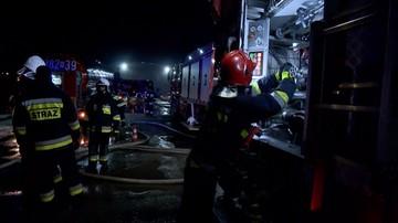 Pożar domu w Gołdapi. Nie żyje 55-latek