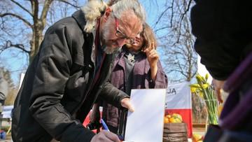 Łódź: śledztwo ws. gróźb wobec lidera KOD