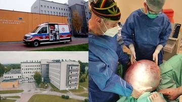 Małopolska: 25-latce wycięli z brzucha guza, który ważył około 30 kilogramów