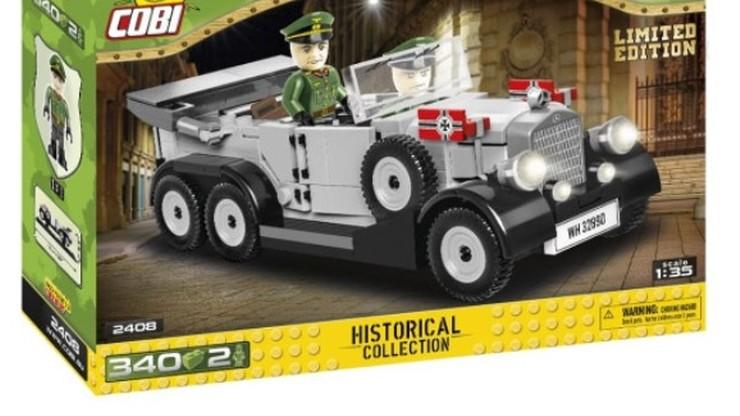 """Naziści w samochodach-zabawkach firmy Cobi. """"Nie popieramy ich poglądów"""""""
