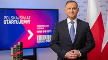 Kongres 590. Prezydent: celem jest, by Polska była krajem nowoczesnym