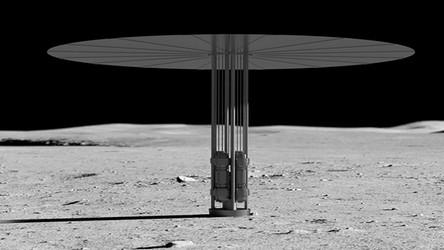 NASA: Pierwsza elektrownia jądrowa stanie przy bazie na Księżycu za 6 lat