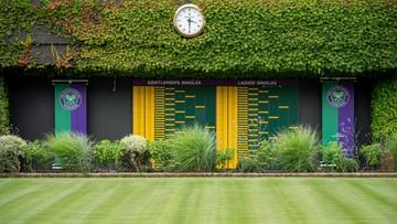 Wimbledon: Pierwszy raz od 75 lat sezon bez Wielkiego Szlema w Londynie