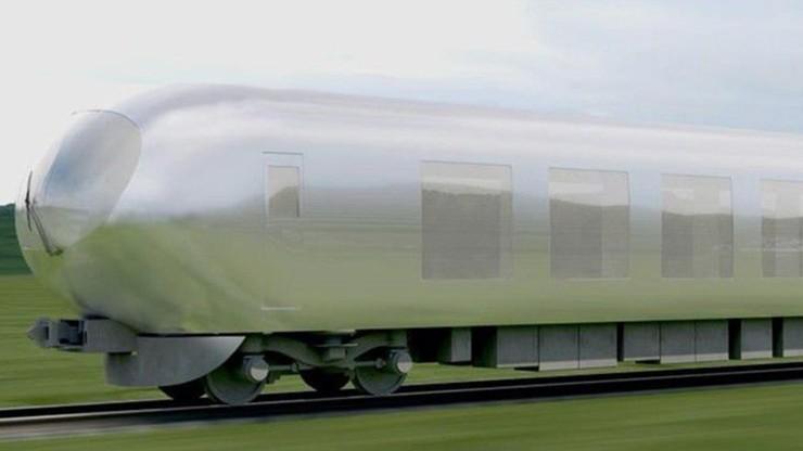 """""""Niewidzialny"""" pociąg dopasuje się do krajobrazu"""