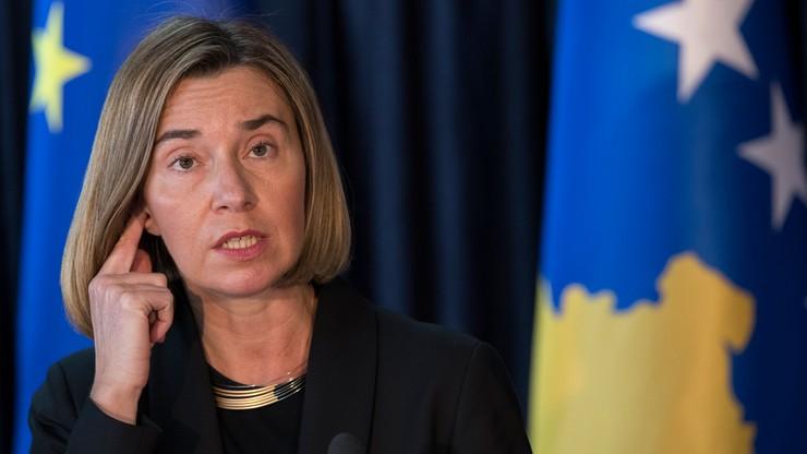 Szefowa unijnej dyplomacji ponagla opozycję w Kosowie ws. umowy z Czarnogórą