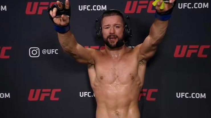 """UFC: Mateusz Gamrot oszalał ze szczęścia. """"Dziękuję hejterom"""""""