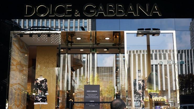 Kłopoty Dolce&Gabbana. Bojkot firmy po oskarżeniach o rasizm