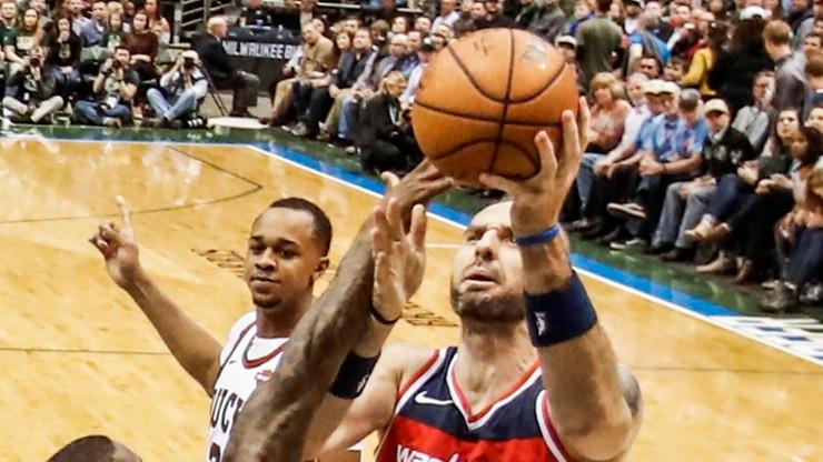 NBA: Dziesięć punktów Gortata, Wizards przegrali z Pacers