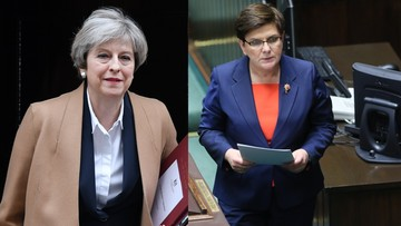 """""""Zminimalizować potencjalne negatywne skutki Brexitu"""". May i Szydło w rozmowie telefonicznej"""