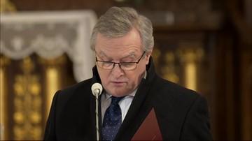 Wicepremier Piotr Gliński wspomina Krzysztofa Krawczyka