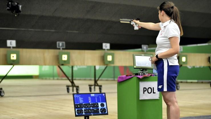 Igrzyska Europejskie 2019: Piąte miejsce Polaków w pistolecie 25 m