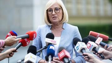 Kopcińska po zawieszeniu protestu: apeluję, by nie wracać do złych emocji