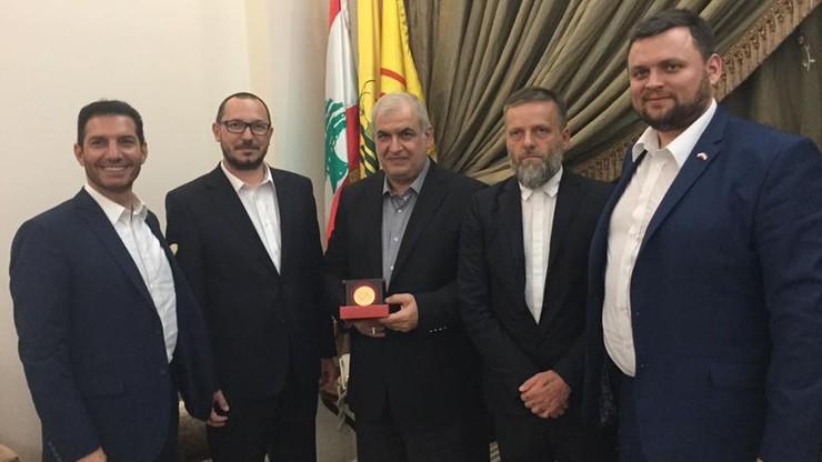 Poseł Kukiz'15 spotkał się z liderem Hezbollahu. Organizacja uznawana jest za terrorystyczną