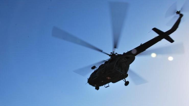 Wojskowy śmigłowiec przewrócił się w trakcie lądowania na lotnisku w Łęczycy