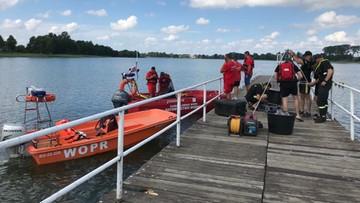 Odnaleziono ciała dwóch chłopców, którzy utonęli w jeziorze w Wąsoszu
