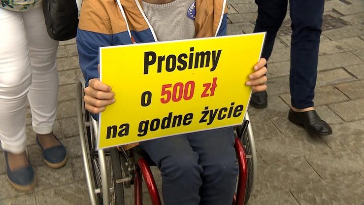 Ustawa ws. dodatku 500 zł dla niepełnosprawnych od września