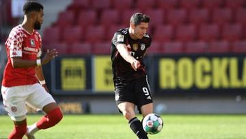 Robert Lewandowski strzelił gola w meczu z Mainz (WIDEO)