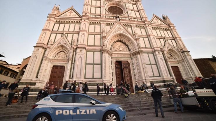 Turysta zginął w bazylice we Florencji. Spadł na niego element z sufitu
