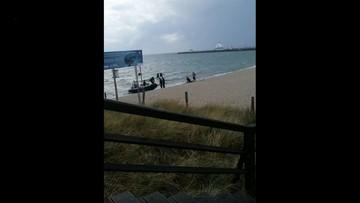 Akcja ratunkowa w Helu. Wyłowiono płetwonurka