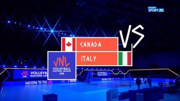 Kanada - Włochy 0:3. Skrót meczu