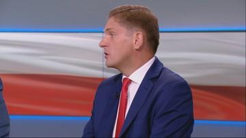 """""""Schetyna zachęcając do koalicji walczy o swoje prywatne być albo nie być"""". Kownacki w Polsat News"""