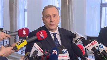 Schetyna przedstawił kandydatów na listy Koalicji Europejskiej do PE