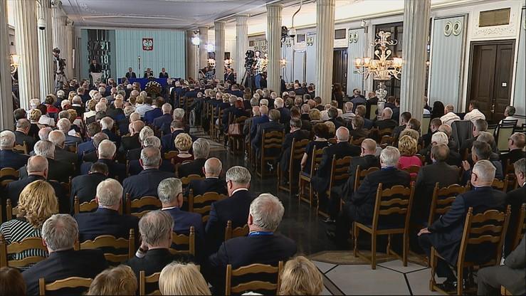 30-lecie wolnych wyborów do Senatu. Uroczysta sesja Izby Wyższej z udziałem prezydenta i premiera