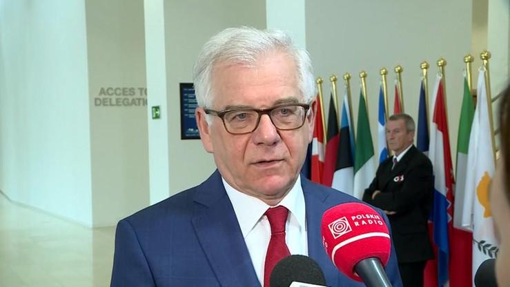 """""""Nie mówimy z góry, że nie będziemy się stosowali do orzeczenia Trybunału Sprawiedliwości UE"""""""