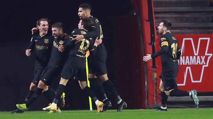 Puchar Króla: Ciężka przeprawa Barcelony z Granadą w ćwierćfinale