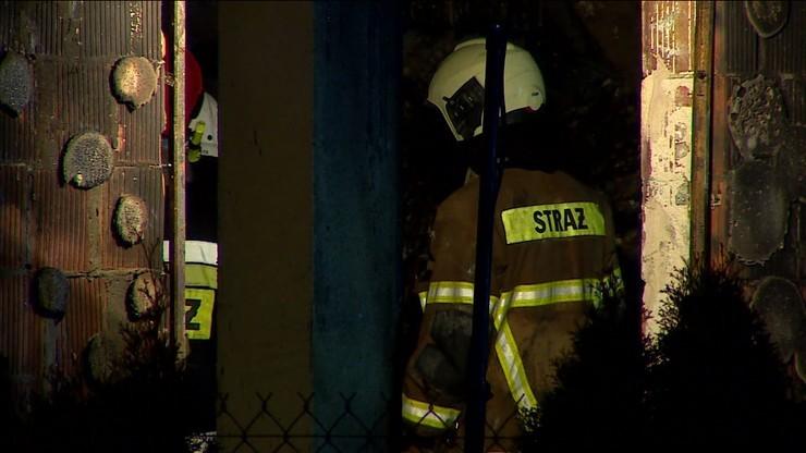 Strażak zginął w pożarze swojego domu