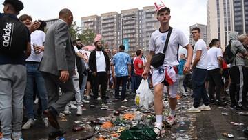 Euro 2020: Kibice próbowali wedrzeć się na teren Wembley! (WIDEO)