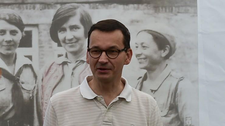 Mateusz Morawiecki jedzie na Łotwę. Odwiedzi żołnierzy i spotka się z tamtejszym premierem.