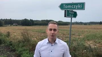 Tomczyk w Tomczykach. Tu zaczął kampanię