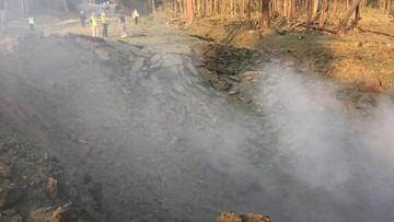 Eksplozja ciężarówki przewożącej chemikalia w Arkansas. Wyrwa o średnicy 4,5 metra