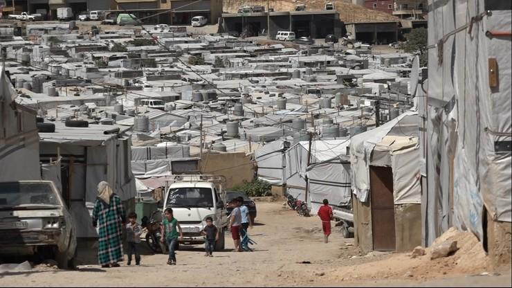 Liban. Obóz dla syryjskich uchodźców. Reporter Polsat News towarzyszy misji PCPM