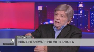 Szewach Weiss w Polsat News: Izraelski dziennik zmienił słowa premiera Netanjahu. To manipulacja