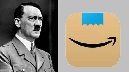Amazon zmienia logo aplikacji, bo przypominało… Adolfa Hitlera