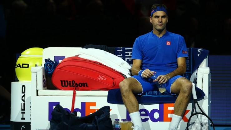 ATP Finals: Porażka Federera w pierwszym meczu