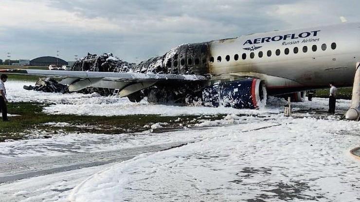 Rosja: przewoźnicy nie rezygnują z samolotów Suchoj Superjet 100 po katastrofie w Moskwie