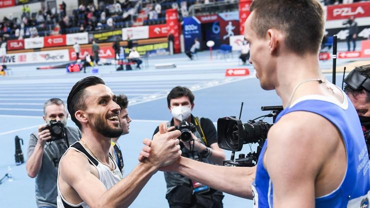 Patryk Dobek pokonał Adama Kszczota podczas mistrzostw Polski