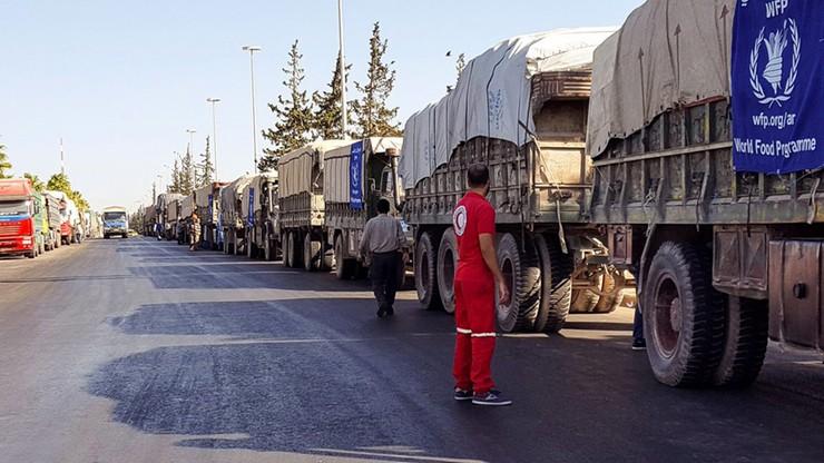 Armie Rosji i Syrii zaprzeczają, jakoby zaatakowały konwój ONZ