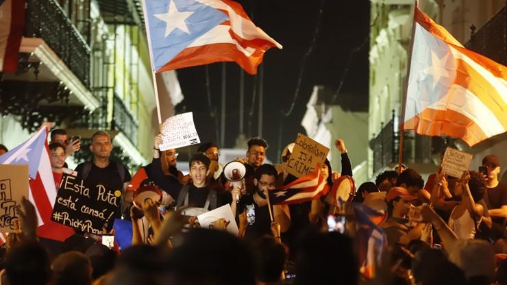 Masowe protesty w Portoryko. Zrezygnował gubernator, który obrażał kobiety i gejów