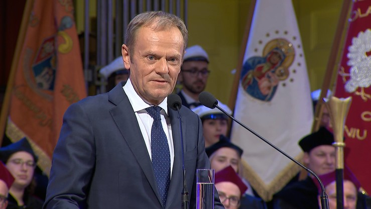 """Spór wokół udziału Tuska w marszu """"Polska w Europie"""". PiS: to """"agitacja""""; PO: """"wsparcie wartości"""""""