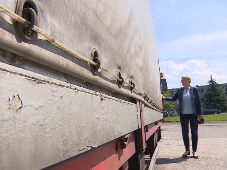 Miała przewieźć 24 tony aluminium, została z długiem na ponad 500 tys. zł