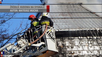 Ugaszono pożar hotelu w Kudowie-Zdroju. Ewakuowano 130 osób