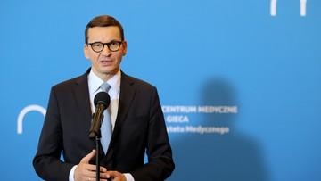Morawiecki: Rosja i Białoruś chcą zdestabilizować Europę