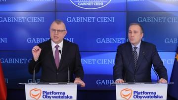 Schetyna: rekomenduję poparcie Kazimierza M. Ujazdowskiego na prezydenta Wrocławia