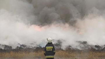Drugi dzień walki z pożarem opon. Trwa dogaszanie