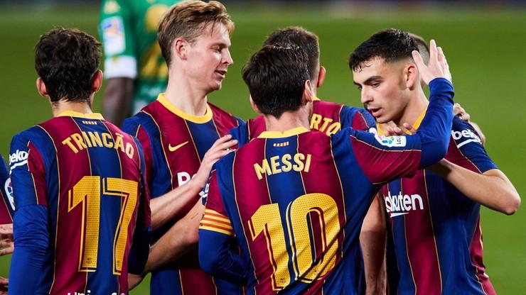 La Liga: FC Barcelona wygrała po raz pierwszy od ponad miesiąca