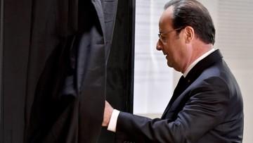 Hollande do ministrów: zróbcie, co się da, by Le Pen przegrała